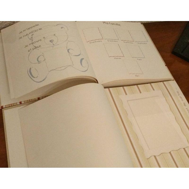 id e cadeau l 39 album photo de naissance personnalis coussin mariage. Black Bedroom Furniture Sets. Home Design Ideas